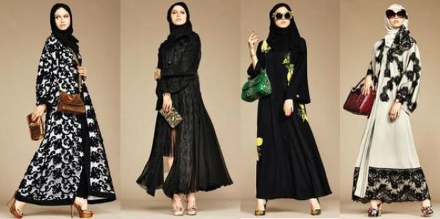 Dolce & Gabbana dall'Italia all'Islam A/R con la collezione Abaya