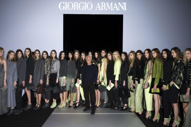 Giorgio Armani e l'inverno 2015… che sembra primavera