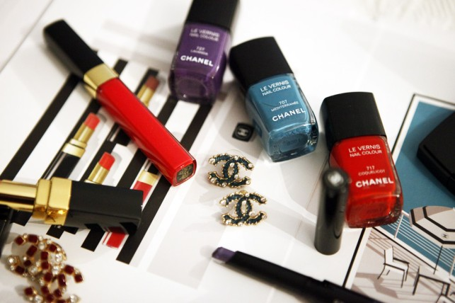 L'estate romantica del make-up Chanel