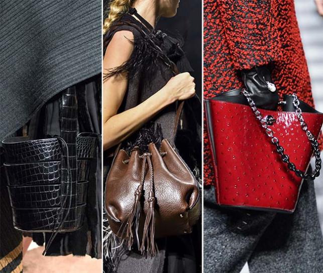 La borsa a secchiello e il suo rientro in grande stile!