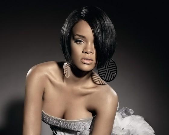 Bob-cut Rihanna