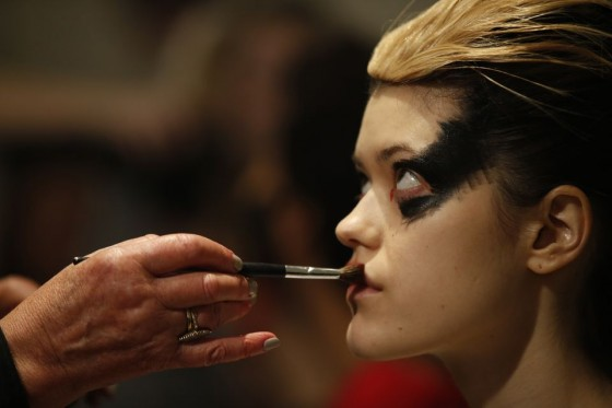 Vivienne Westwood make up london fashion week