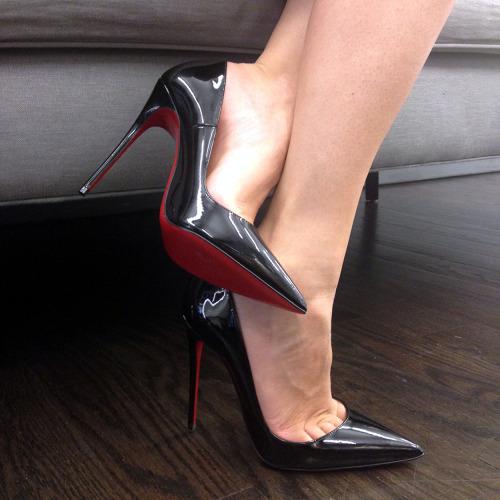 scarpe Christian louboutin nere