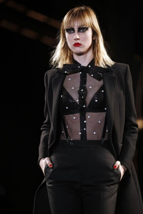 saint laurent trasparenze