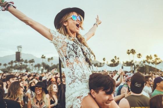 Coachella pizzi e cappelli
