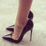 Le scarpe col tacco, un amore indissolubile