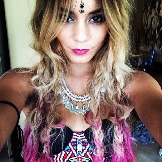 Vanessa Hudgens indian tatoo