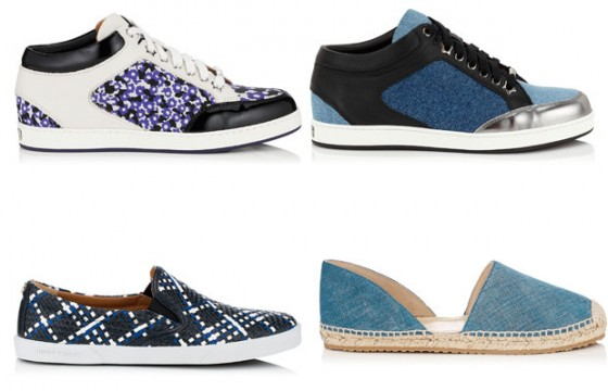 Jimmy Choo sneakers primavera estate 2015