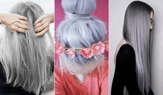 capelli grigi tendenza
