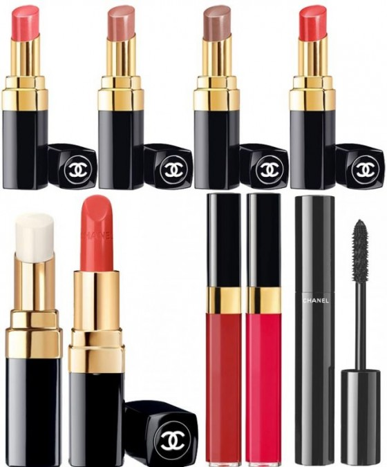 make-up chanel mediterranee rouge