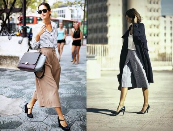La moda  estate 2015 panta culottes