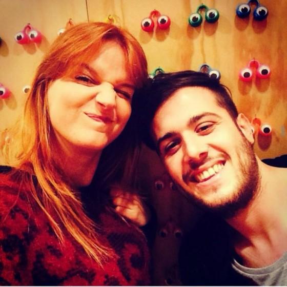 Chiara con Federico Zaccone