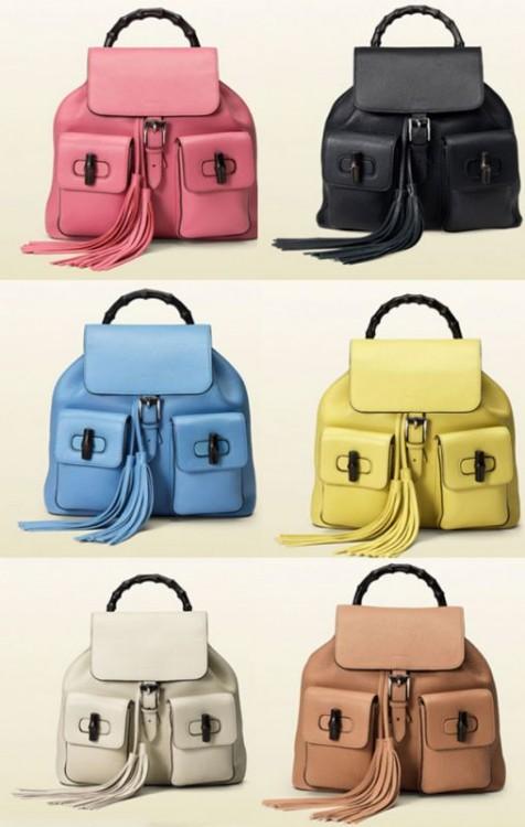 le borse dell'estate 2015 gucci zaino