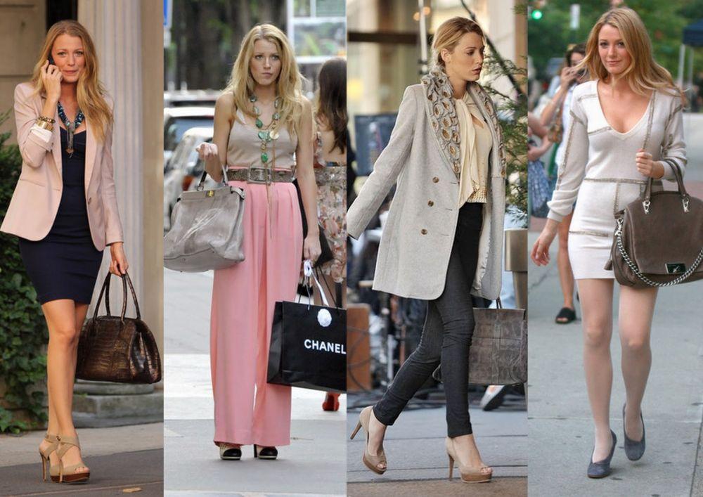 Blake Lively E Serena Van Der Woodsen Blog Moda