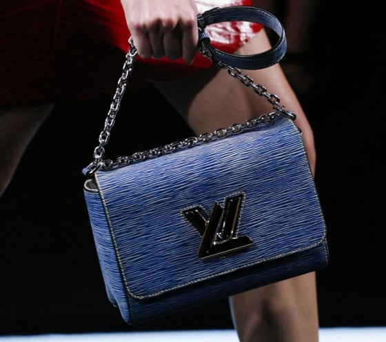 vuitton denim bag