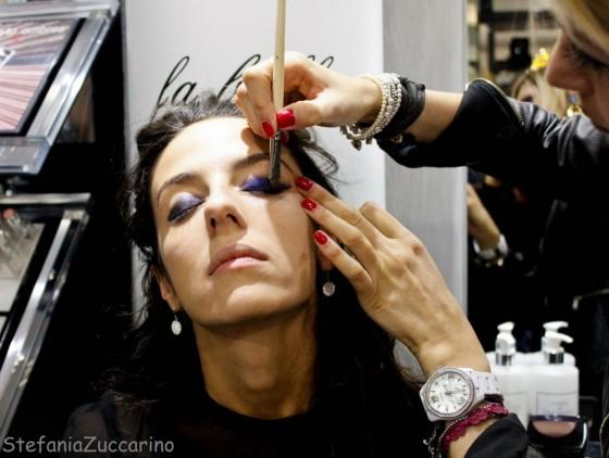 Make-up occhi Chanel blue rhythm