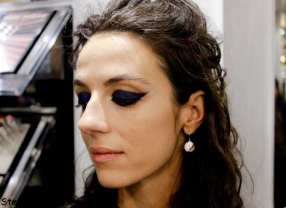Make-up dettaglio Chanel blue rhythm
