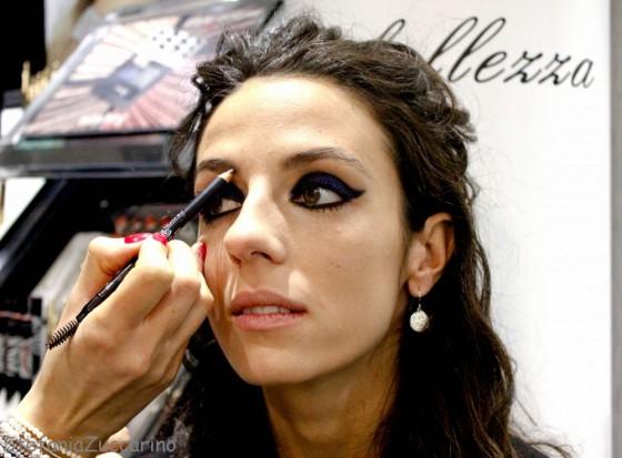 Make-up Chanel blue rhythm sopracciglia
