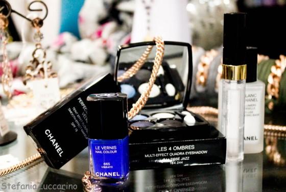 Make-up completo Chanel blue rhythm