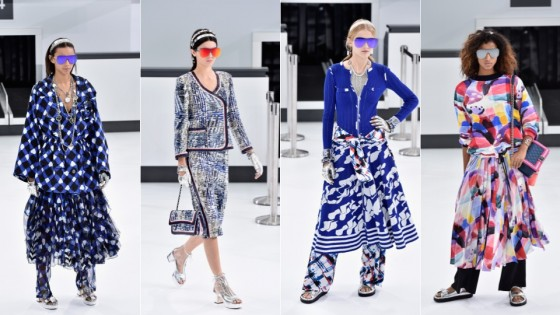 chanel primavera estate 2016 fashion gran palais