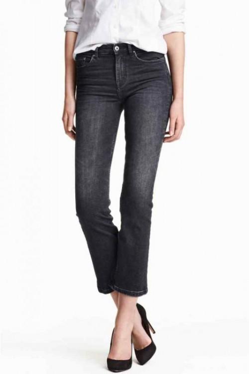 collezione inverno h&m 2016 flare jeans