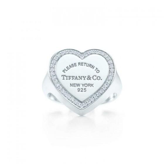 Tiffany anello a cuore