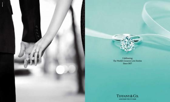Tiffany anello di fidanzamento