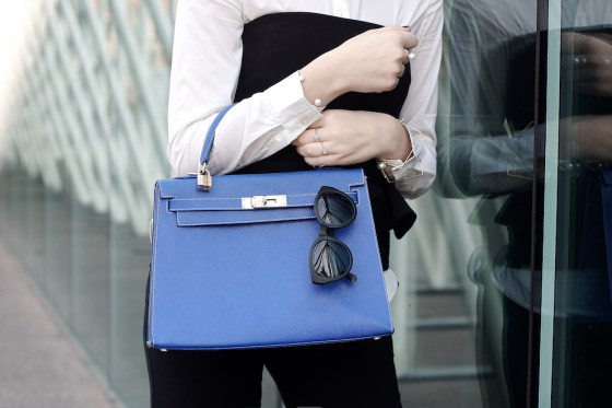 kelly hermes blue