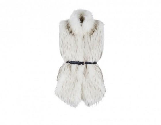 look sulla neve eco pelliccia