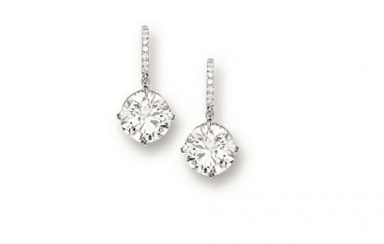 look per capodanno orecchini diamanti cartier