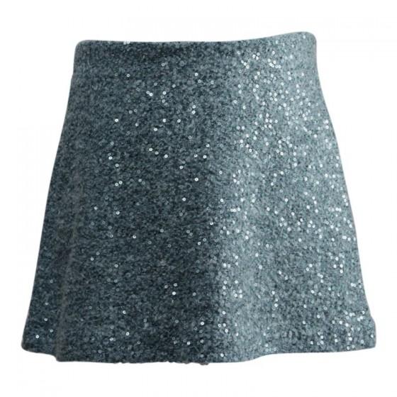 minigonna-paillettes look da neve