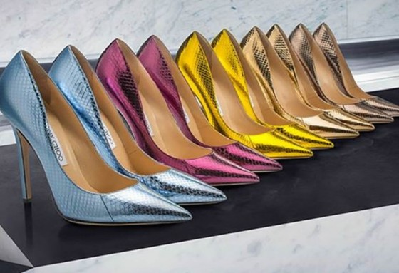 Jimmy Choo's Made-To-Order Service Introduces New Styles for Spring 2015
