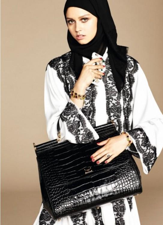 dolce e gabbana moda islamica bag