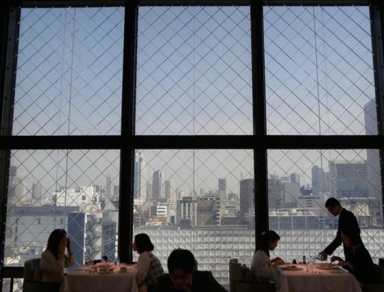 chanel beige restaurant tokio san valentino luxury