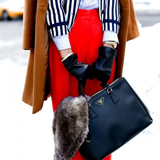 preppy style bag
