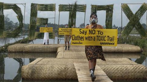 Campagna moda ecosolidale di Greenpeace