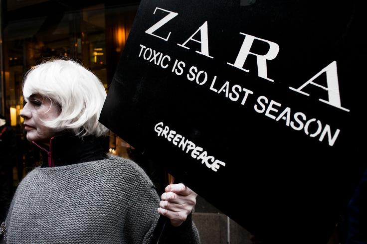 Zara per Greenpeace