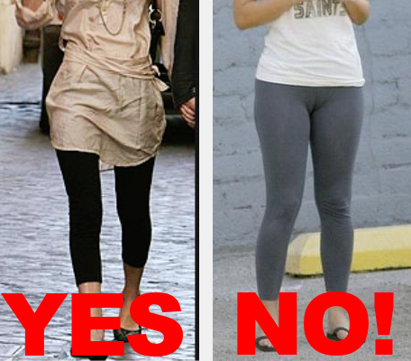 leggings are not pants!