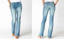 bootcut jeans chiari