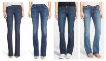 bootcut jeans scuri