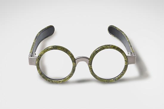 occhiale in marmo di Budri