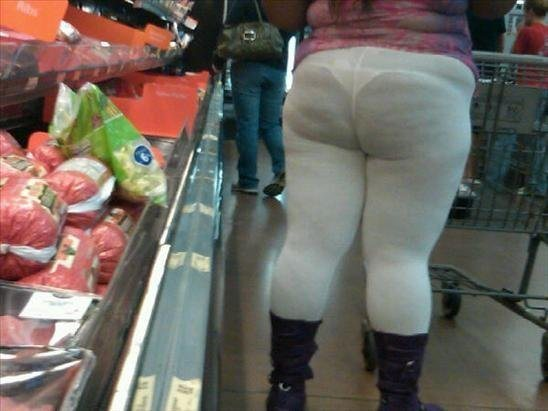 leggings con cellulite