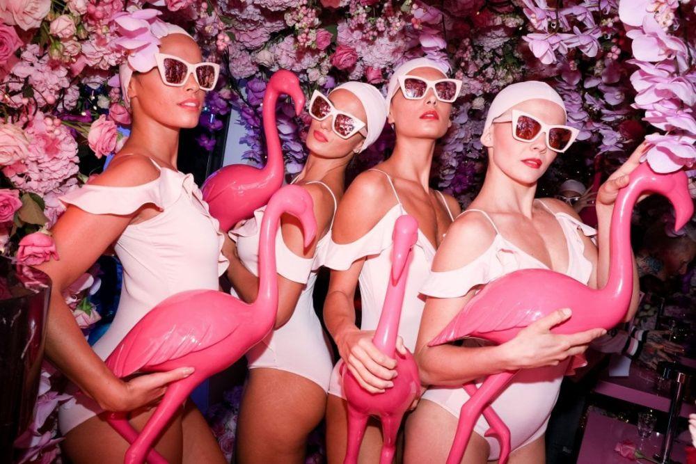 Philipp Plein MFW – Il Pink Paradise Party all'interno della boutique di Philipp Plein