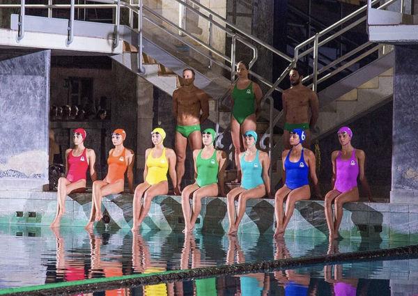 Le nuotatrici di Benetton