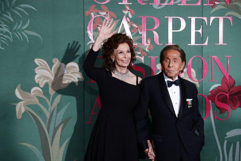 Sophia Loren e Valentino