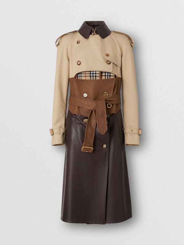Trench Burberry pelle