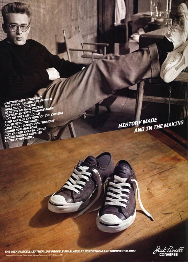 Le Converse di James Dean